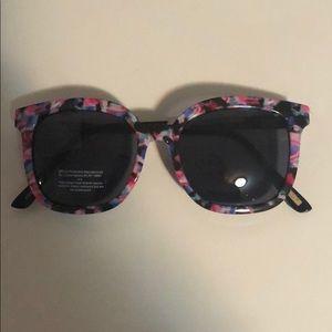 J crew black lenses sun glasses